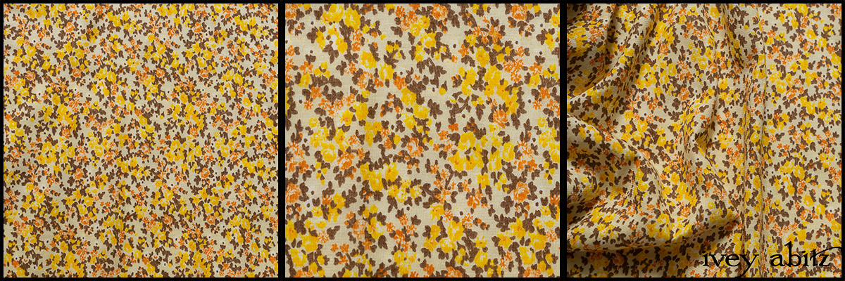 Yellow Days Soft Floral Knit - Collection 63 - 2020