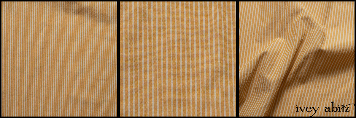 Yellow Days Washed Stripe Cotton - Collection 63 - 2020