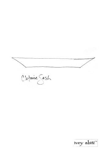 Clotaire Sash 1