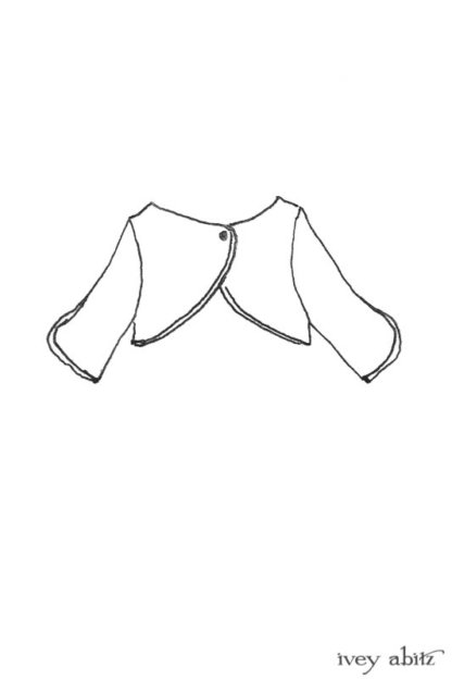 Addy Jacket drawing by Ivey Abitz