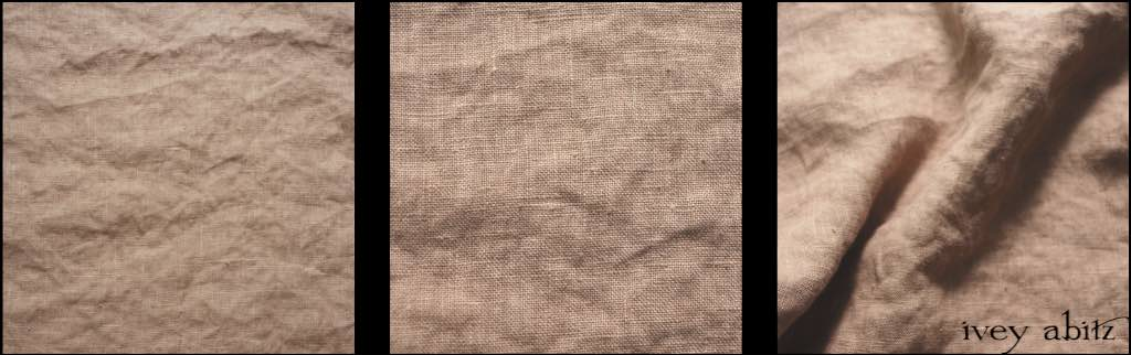 Antique Parchment Washed Linen