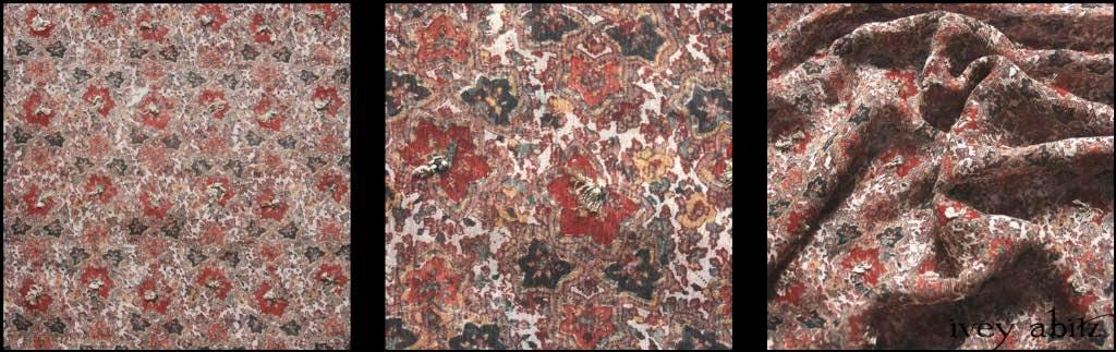 Autumnal Silk Chiffon
