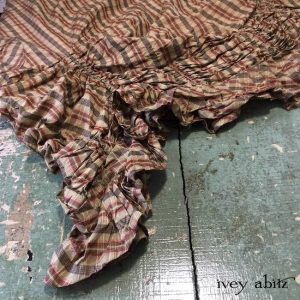 Clemmie Frock in Lawn Washed Plaid Silk by Ivey Abitz