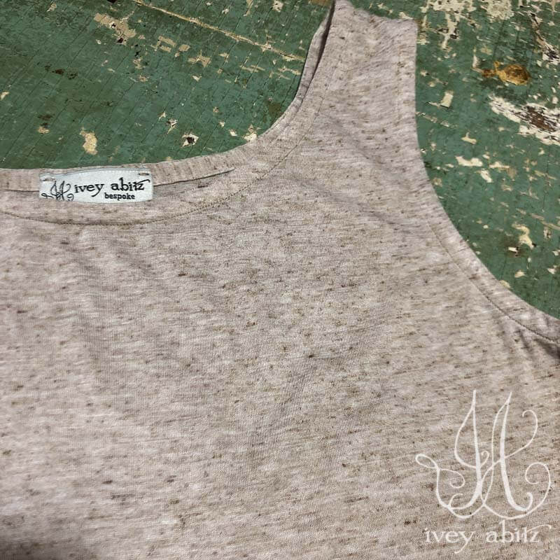 Cilla Camisole in Sand Mottled Knit