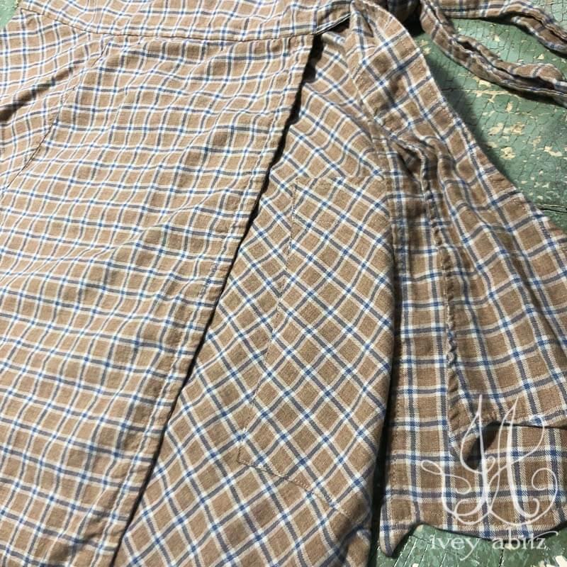 Fairholme Skirt in Sun and Sky Soft Plaid