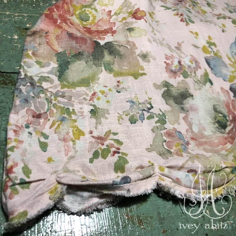 Celia Frock in Watercolour Washed Weave