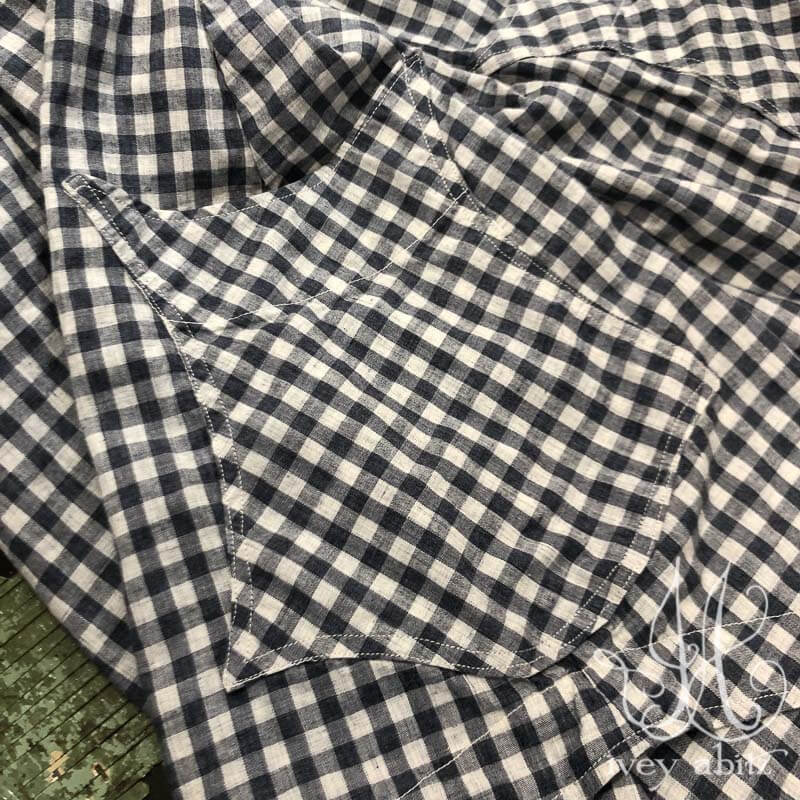 Chevallier Shirt in Blue Skies Soft Check