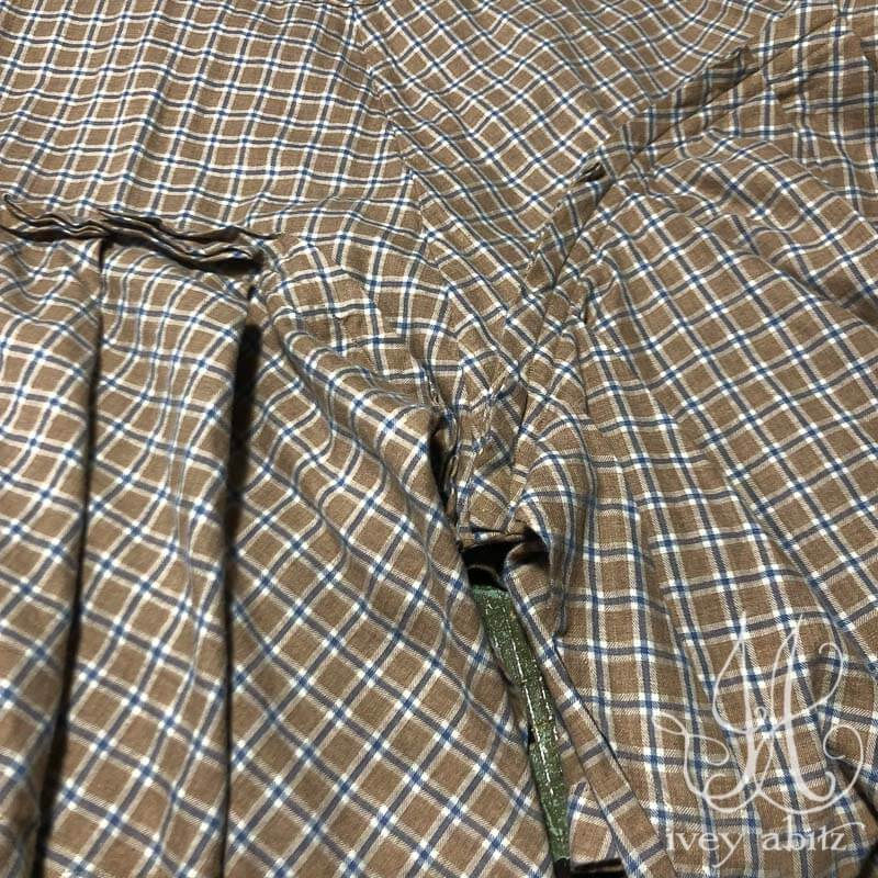 Fairholme Frock in Sun and Sky Soft Plaid