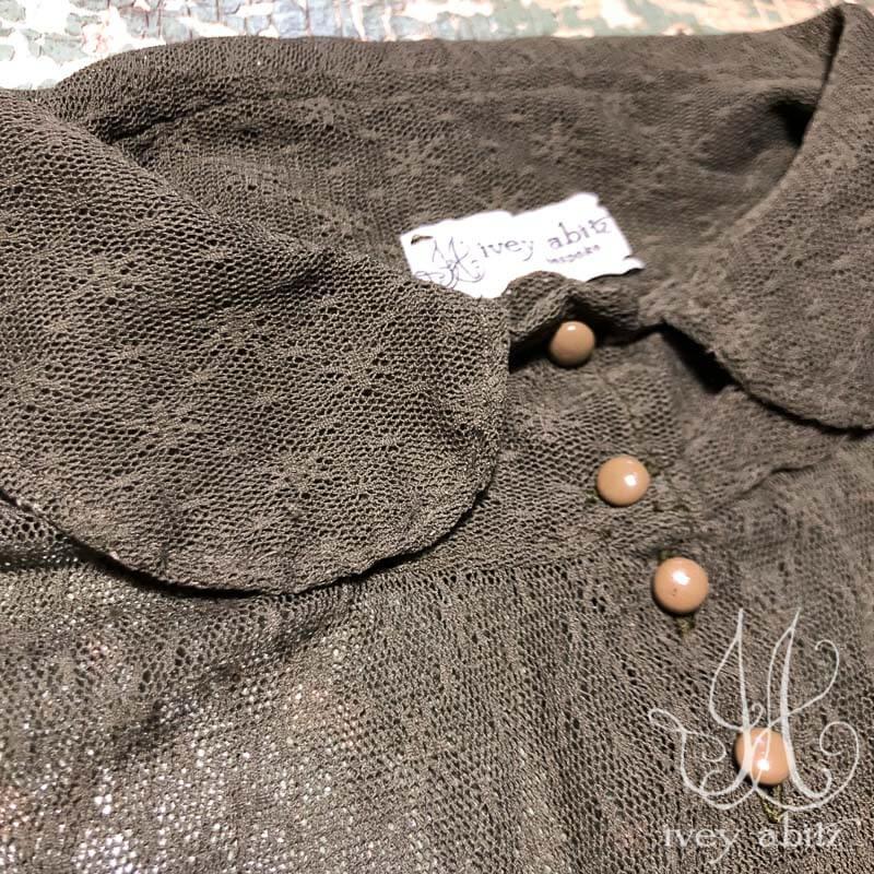 Coulson Coat Dress detail