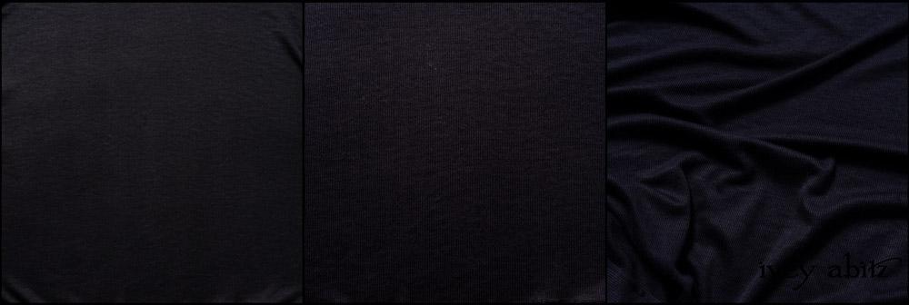 Black Ethereal Stripe Knit