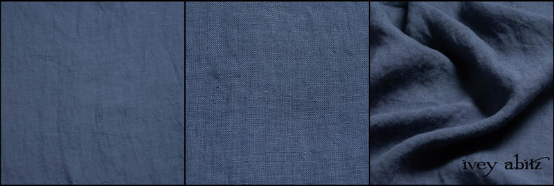 Blue Skies Handkerchief Linen