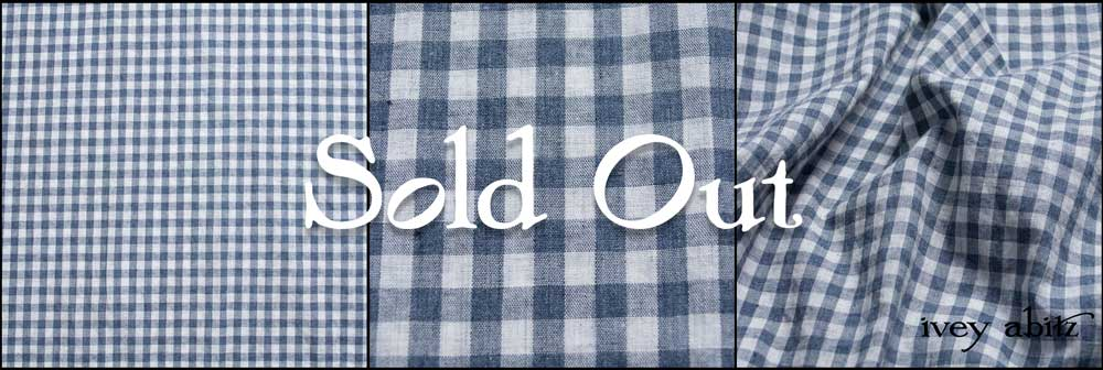 Blue Skies Soft Check sold out on 4/28/19