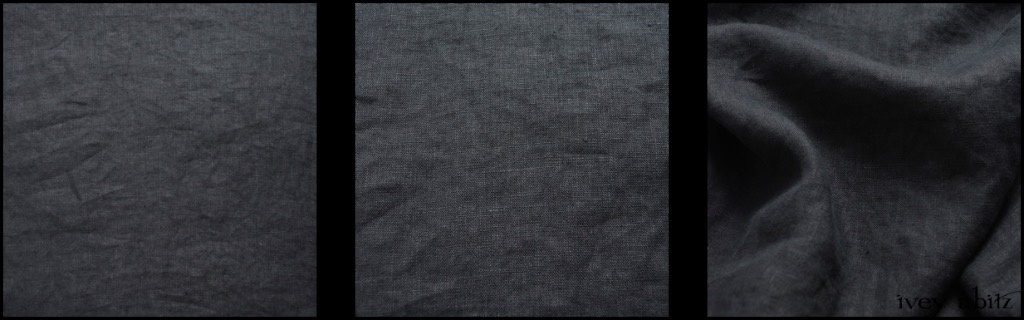 Blue Slate Washed Linen