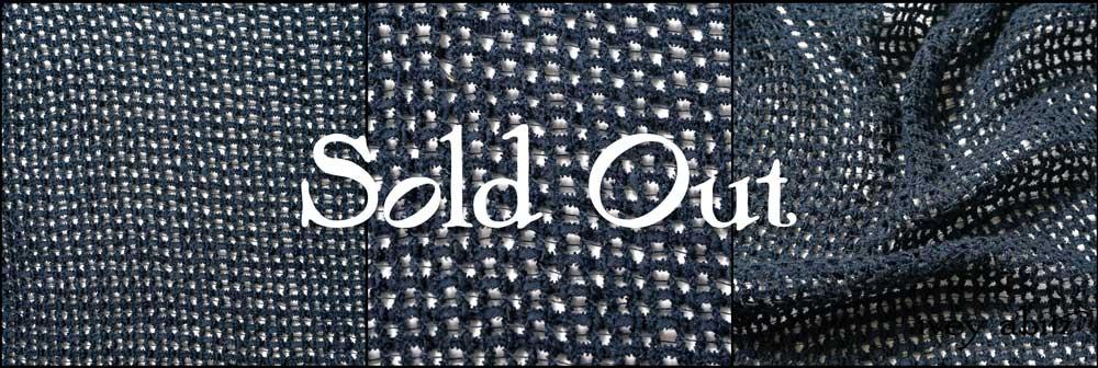 Blueberry Frayed Knit