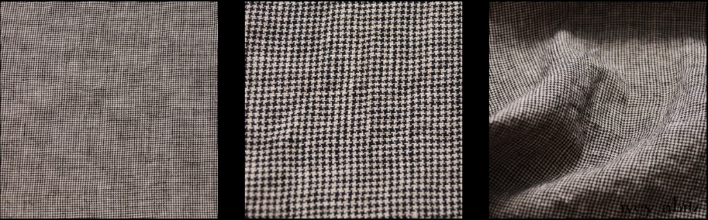 Chimney Washed Houndstooth Linen