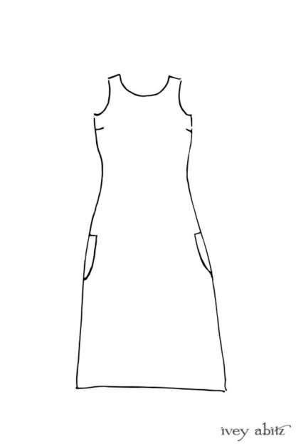 Covante Frock drawing by Ivey Abitz