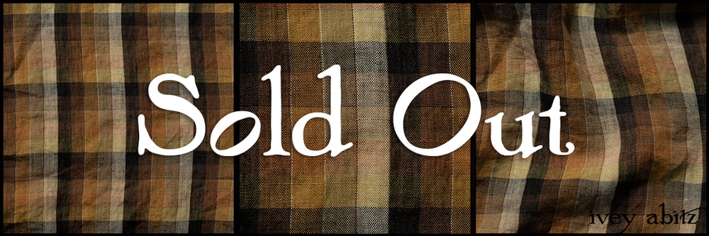 Dignity and Unity Plaid Linen - Collection 64