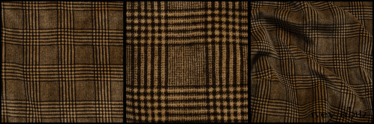 Dignity Plaid Velvet - Collection 64