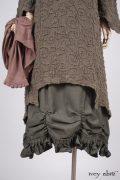 Chittister Dress in a bespoke look by Ivey Abitz