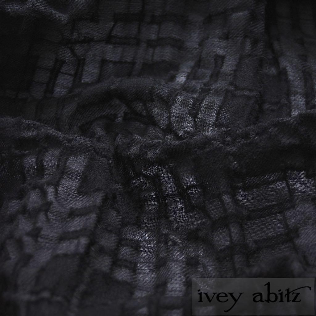 Blackbird Plaid Challis for bespoke Ivey Abitz designs