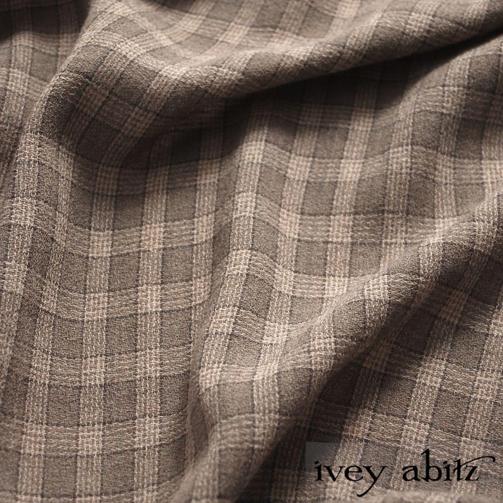 Flaxseed Plaid Weave