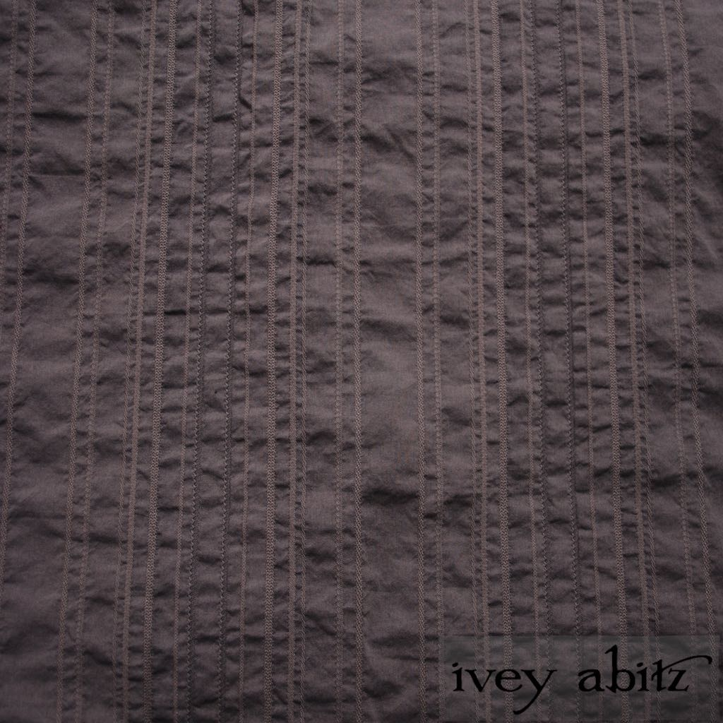 Feather Textured Striped Cotton for Ivey Abitz bespoke designs