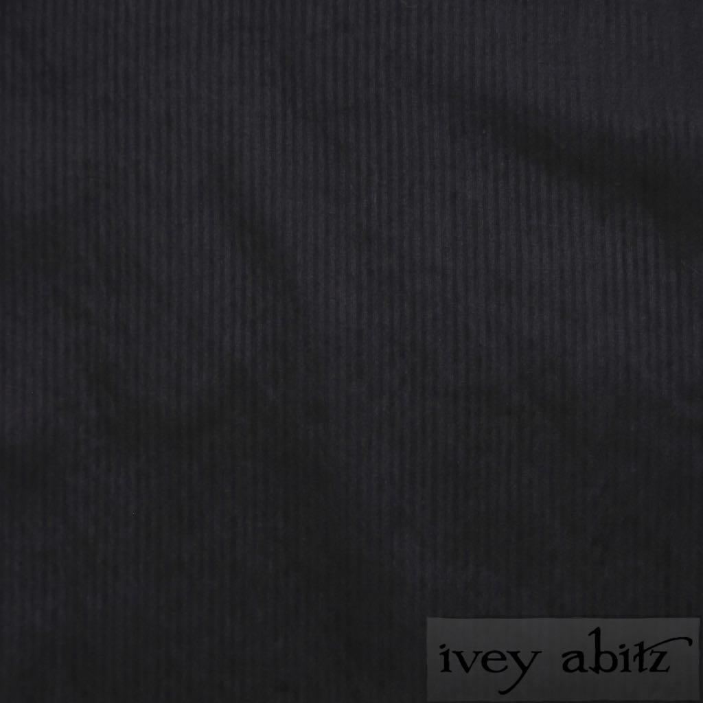 Blackbird Striped Silk Voile for bespoke Ivey Abitz designs
