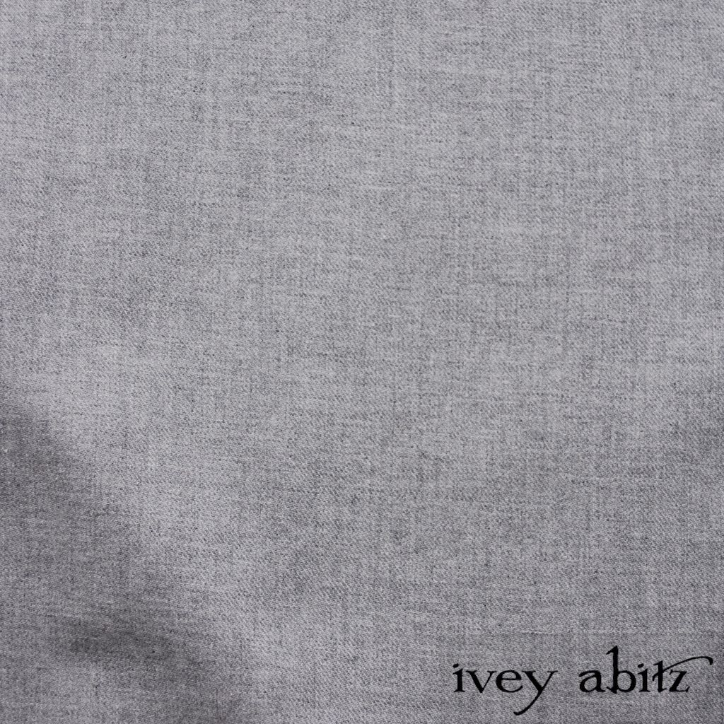 Sparrow Grey Softest Cotton Twill for bespoke Ivey Abitz designs