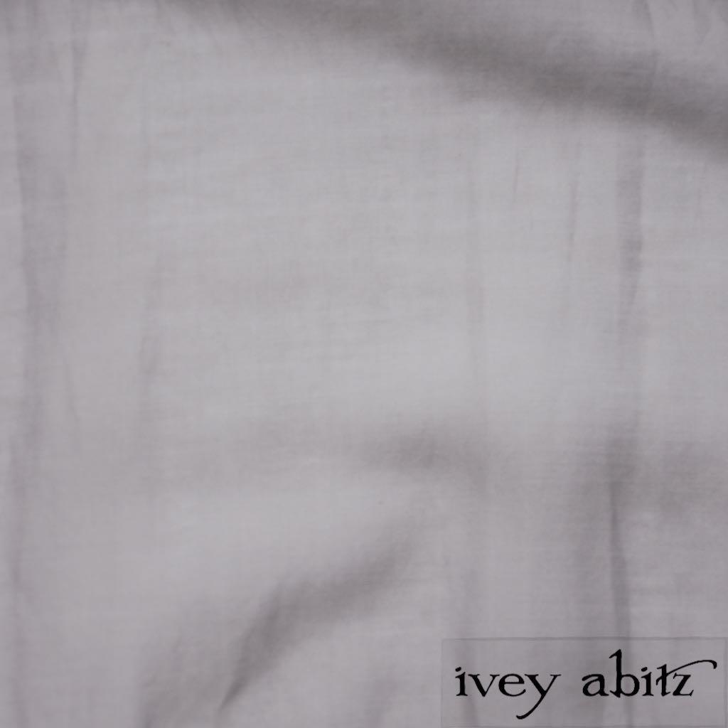 Sparrow Grey Wispy Silk Voile for bespoke Ivey Abitz designs