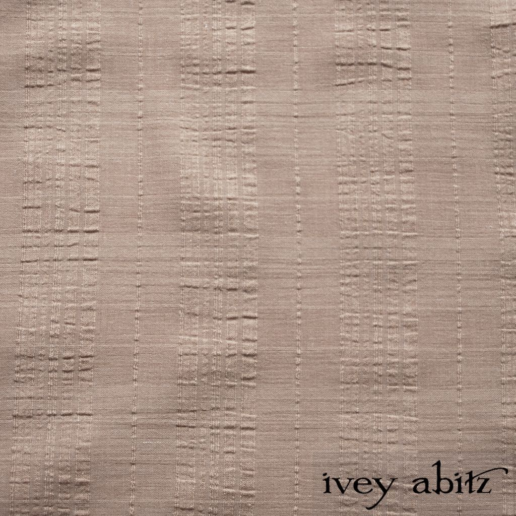 Blushed Plaid Voile for Ivey Abitz bespoke designs