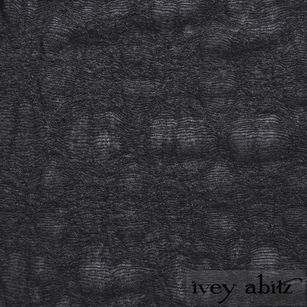 Sparrow Grey Open Weave Knit for bespoke Ivey Abitz designs
