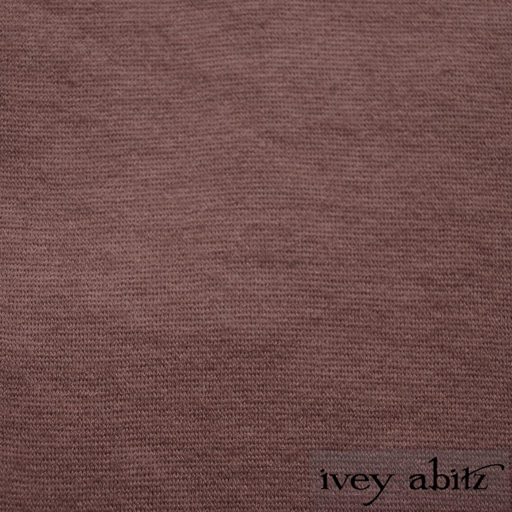Blushed Cashmere Knit for Ivey Abitz bespoke designs
