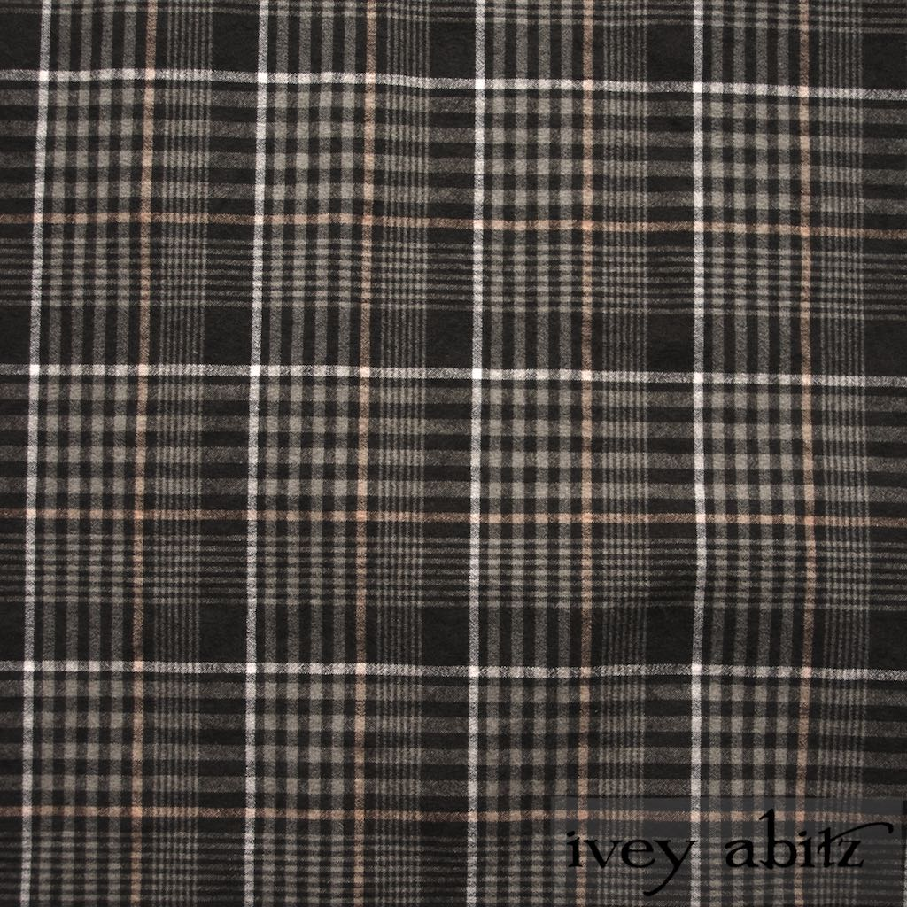 Meadow Stretchy Plaid Cotton for bespoke Ivey Abitz designs