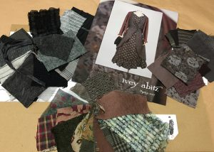 Fabric swatches for Ivey Abitz 2017 Spring