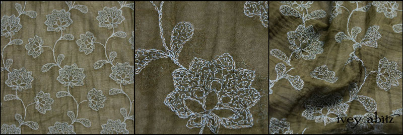 Flora Embroidered Gauze