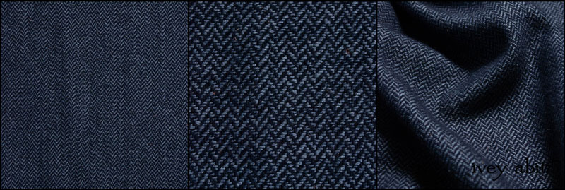 Fresh Water Silk Herringbone