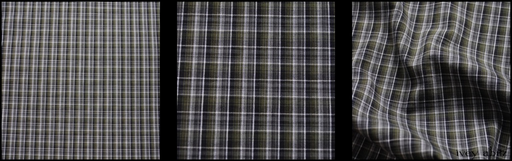 Gable Green Plaid Cotton