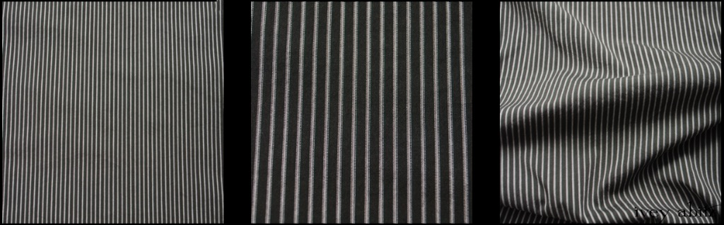 Gable Green Striped Cotton