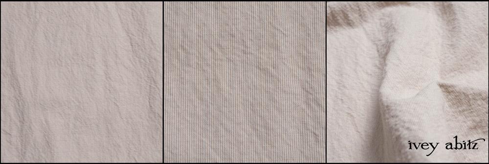 Gardenia and Sand Washed Stripe