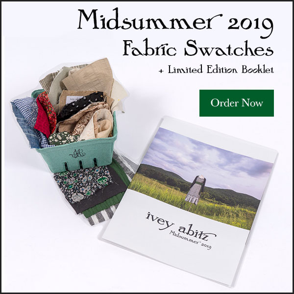 Fabric Swatches and Limited Edition Booklet, Midsummer 2019 Ivey Abitz Bespoke
