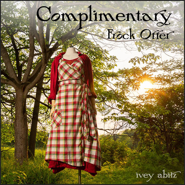 Complimentary frock offer