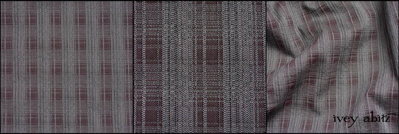 Grey Garden Stretch Plaid