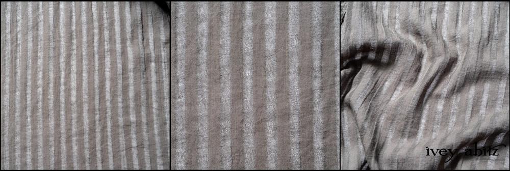 Grey Garden Stripe Gauze