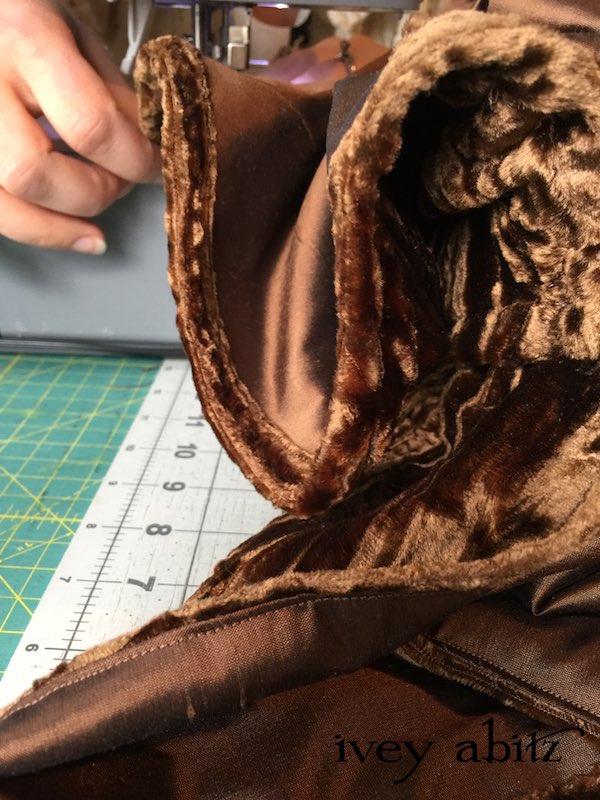 Sewing the Emmy Dress for Carolyn Hennesy, designed by Cynthia Ivey Abitz.
