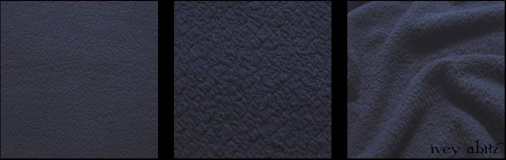 Horizon Blue Puckered Knit