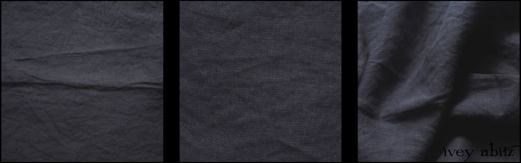 Horizon Blue Wispy Washed Linen