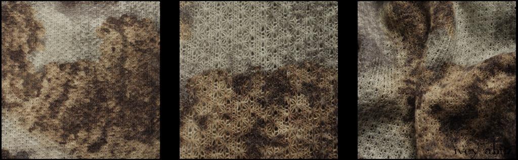 Hydrangea Open Weave Knit