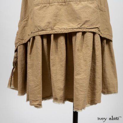 Blanchefleur Frock in Sun and Sand Washed Stripe. By Ivey Abitz
