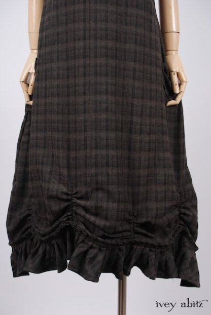 Edenshire Frock in Brindle Plaid Weave