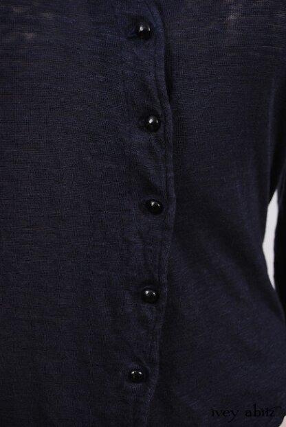 Elliot Jacket in Lakeland Lightweight Linen Knit